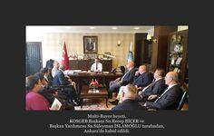 Multi-Buyer heyeti, KOSGEB Başkanı Sn.Recep BİÇER ve Başkan Yardımcısı Sn.Süleyman İSLAMOĞLU tarafından, Ankara'da kabul edildi.
