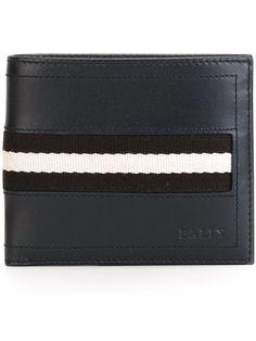 striped logo wallet - Black Bally UZLiLf