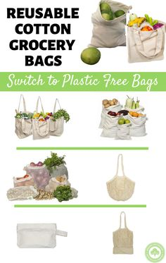 Reusable cotton help save Earth one bag at a time. Get yours now. Sewing Hacks, Sewing Crafts, Sewing Projects, No Waste, Diy Ostern, Eco Friendly House, Reuse Recycle, Sustainable Living, Homesteading