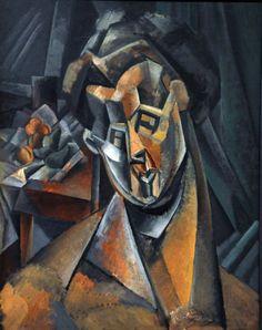 Mujer con Peras #Picasso #Observación #Cubismo