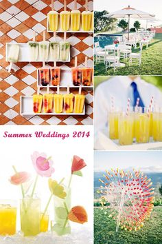 Hot Summer Wedding Ideas for 2014