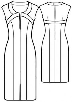 Lots & lots of patterns, (printable & instructions) from Modern Sewing Patterns Sewing Patterns Free, Sewing Tutorials, Sewing Hacks, Clothing Patterns, Dress Patterns, Sewing Crafts, Sewing Projects, Free Pattern, Diy Clothing