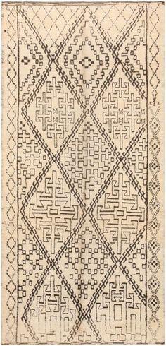 Vintage Beni Ourain Moroccan Rug 47106 Main Image - By Nazmiyal…