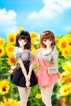 Anime Dolls, Bjd Dolls, Doll Toys, Anime Girl Neko, Anime Kawaii, Kawaii Doll, Anime Figurines, Realistic Dolls, Dream Doll