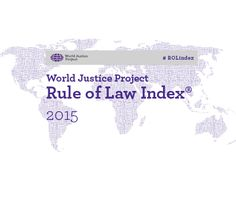 India ranks 59 in the Rule of Law Index 2015, behind Nepal and Sri Lanka
