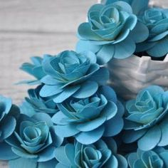 Wood Roses - Birch Wood Shavings Crafted Flowers