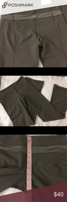 Lululemon reversible Wide leg workout pants EUC size tag missing . Measurement added fits more like a 6, open to offers lululemon athletica Pants