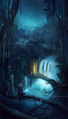 the elvenking's gate . by megatruh.deviantart.com on @deviantART