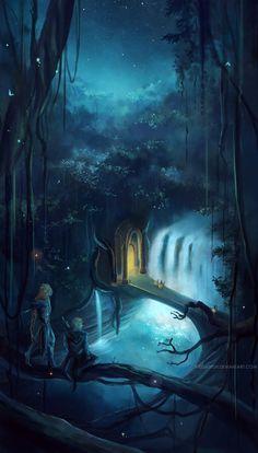 the elvenking's gate . by megatruh.deviantart.com on @deviantART