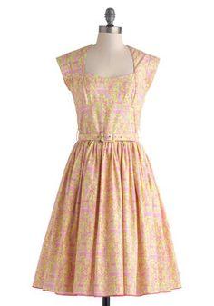 Eiffel Power Dress, #ModCloth