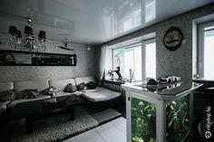 Трехкомнатная квартира на Первомайской с русалкой, пиратским кораблем и зазеркальем