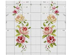 Resultado de imagen para hand embroidery motifs for bed linen # bed linen # hand embroidery motifs … – Embroidery Desing Ideas Tiny Cross Stitch, Cat Cross Stitches, Cross Stitch Bookmarks, Vintage Cross Stitches, Cross Stitch Borders, Cross Stitch Flowers, Cross Stitch Designs, Cross Stitching, Cross Stitch Embroidery