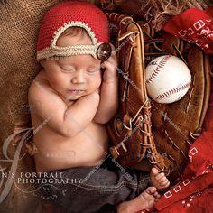 Baseball Cap: Newborn Photography Hats