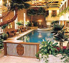 Pillar and Post Inn, Niagara on the Lake, Canada. Amazing getaway hotel and spa.