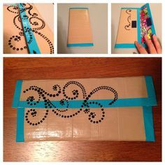 Easy to make duct tape wallet.