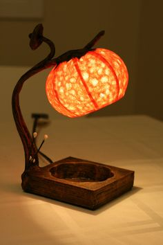 Hanji Small Desk Lamp Tear Drop plz indicate at by HanjiLight, $59.50