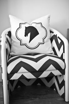 ❤️Equestrian pillow w