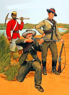 Volunteer, Transvaal Burgher Force, Boer War
