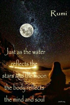 Mindfulness Exercises To Improve Your Outlook On Life Rumi Love Quotes, Moon Quotes, Wisdom Quotes, Great Quotes, Quotes To Live By, Positive Quotes, Life Quotes, Positive Life, Kahlil Gibran