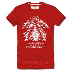 Assassins Creed Brotherhood Short Tee http://www.newmilo.com/