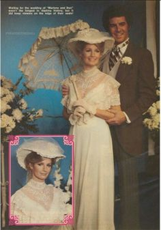 Image result for don and marlena days of our lives wedding