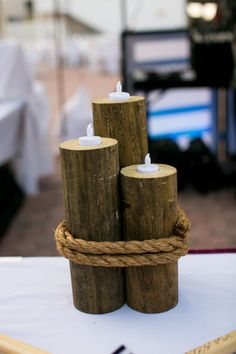 Decorative Nautical Pilings by TheGagnes on Etsy, $40.00