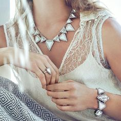 Love #jewelry #fashion #love #chloeandisabel