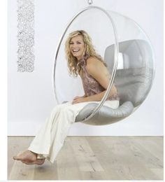 I also want a bubble chair!