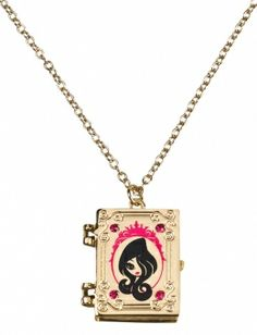 Ever After High book Necklace
