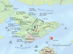 Bunker Hill Massachusetts Map | Array of American forces for the Battle of Bunker Hill