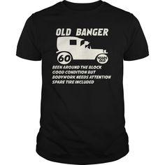 Funny Shirt - Old Banger