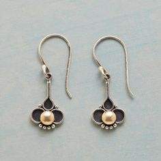Details about  /Earrings-Sterling Silver Wires-Brown and Copper Color