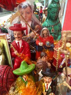 Maximon & Other Deities-Saints For Sale in Guatemala