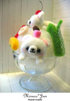 【miruco jun】Feltneedle wool