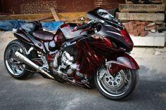 A friends Busa Suzuki Motorcycle, Moto Bike, Motorcycle Design, Custom Street Bikes, Custom Sport Bikes, Stunt Bike, Biker Boys, Busa, Cool Motorcycles