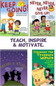 Teach, Inspire and Motivate #kids #kindleUnlimitedforKids  www.amazon.com/author/mayradiaz