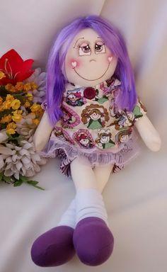 boneca de pano 60 cm