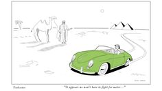 It appears we won't have a fight for water - Porsche 356A