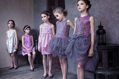 Lilac is a key part of the summer 2014 Mischka Aoki kids fashion collection