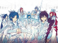 magi, anime, and manga -kuva