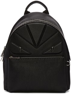 2ece74a24ded Fendi - Black Monster Backpack. 5 Dec 2016 on sale at Ssense was  3750