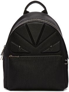 6a7ef063885a Fendi - Black Monster Backpack. 5 Dec 2016 on sale at Ssense was  3750