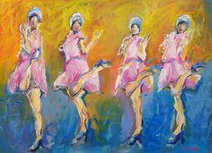 The Charleston, acrylic and oil pastel on paper, 50cm x 40cm NZ art, www.paulinegough.com Nz Art, Medium Art, Mixed Media Art, Charleston, Pastel, Oil, Painting, Cake, Painting Art