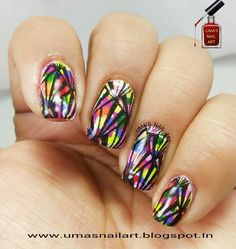 "I added ""Uma's Nail Art: Day-18: Artwork"" to an #inlinkz linkup!http://umasnailart.blogspot.in/2015/01/day-18-artwork.html"