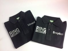 Ring security. Give your ring bearers a personalized shirt to feel special on your special day #wickedstithesgifts