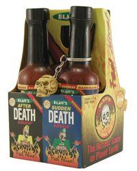 Blair's Mini Hot Sauce Four Pack