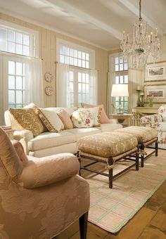 French country living room design ideas (49)