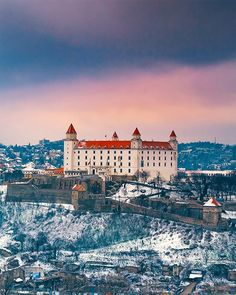 Bratislava Castle, travel photography Bratislava Slovakia, I Want To Travel, Most Beautiful Cities, Travel Bugs, Travel Guides, Bellisima, Places Ive Been, The Good Place, Travel Photography