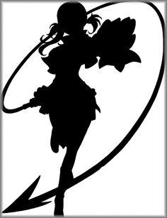 silueta fairy tail - Buscar con Google