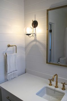 Kohler Purist Wallmounted Faucet Goldbronze I Recommend A Wall - Kohler purist bathroom collection
